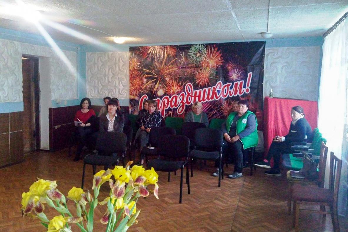 Владимир Санкин в рамках проекта «Парламентский час» встретился с жителями Лутугинского района