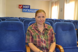 «Россия – моё будущее», – уроженка станицы луганской Татьяна Сухаревская