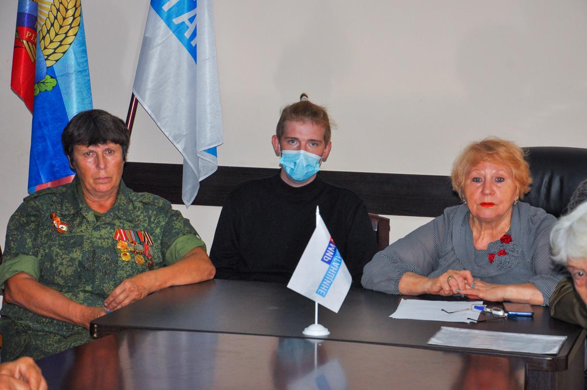 В Свердловске активисты провели встречу «В жизни всегда есть место подвигу» 2