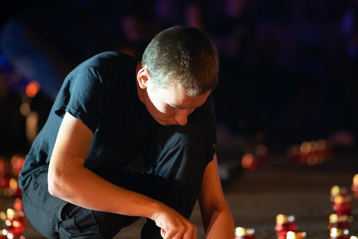 В Луганске почтили память погибших на перекрёстке квартала Солнечный в 2014 году 2