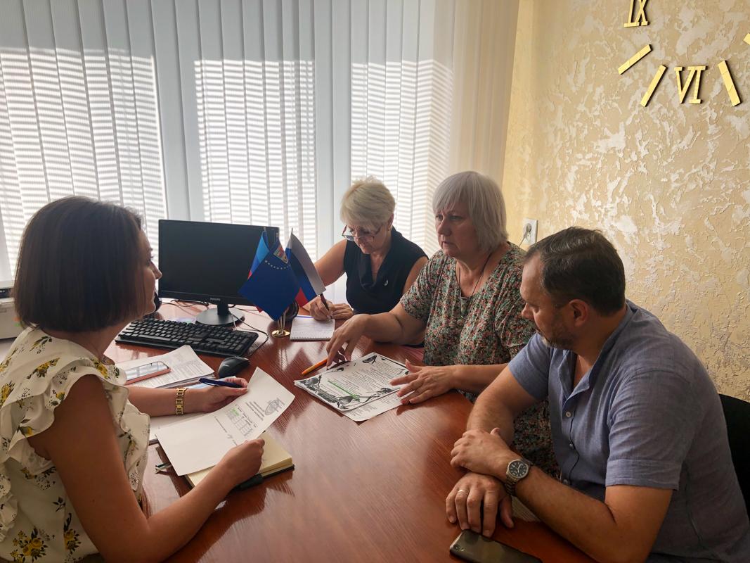 В Славяносербске состоялась встреча на которой обсудили отдых детей в оздоровительном комплексе «Снегири»