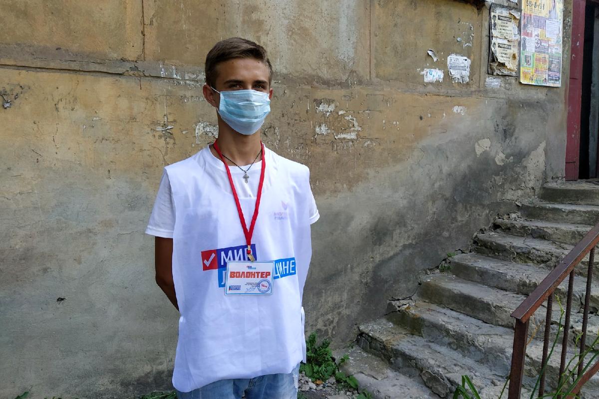 Перевальские волонтёры акции «Рука помощи» помогли жительнице города