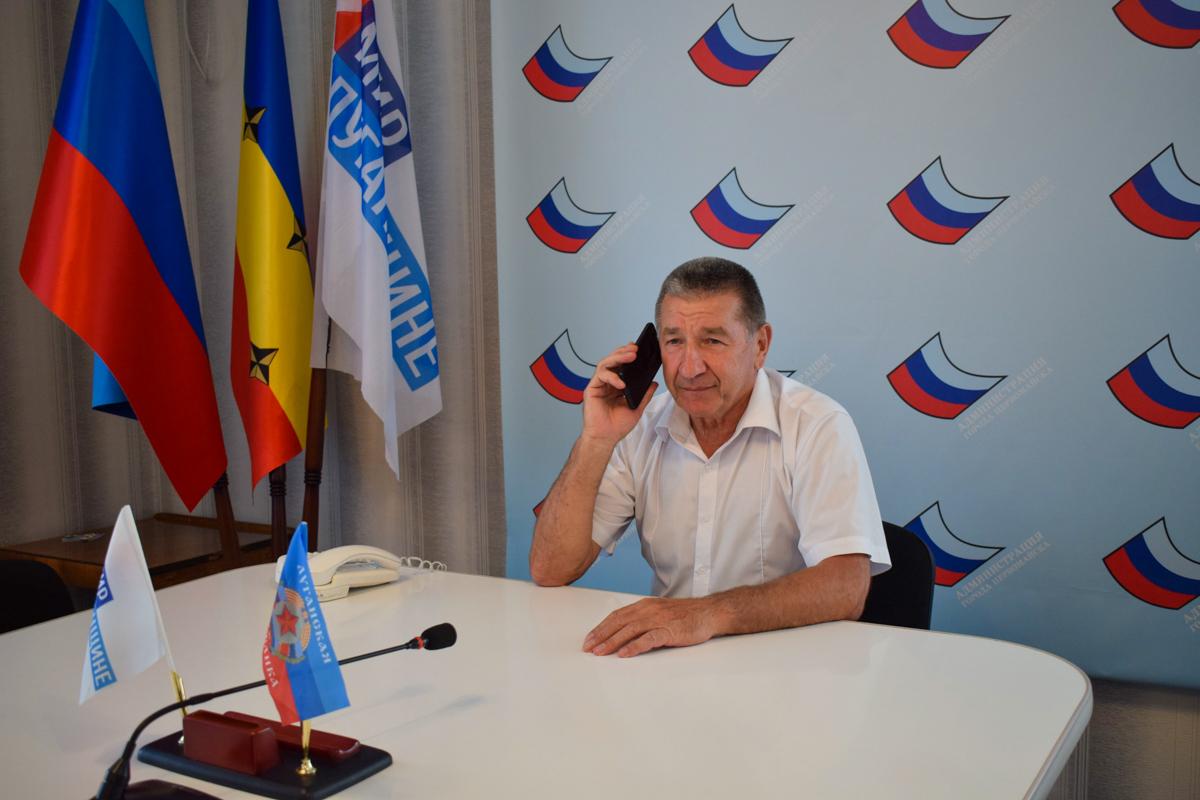 В Первомайске глава администрации ответил на вопросы жителей города 1