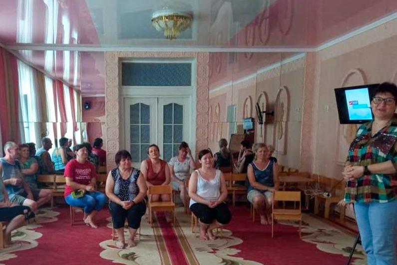 В Стаханове провели встречу активистов первичного отделения ОД «Мир Луганщине»