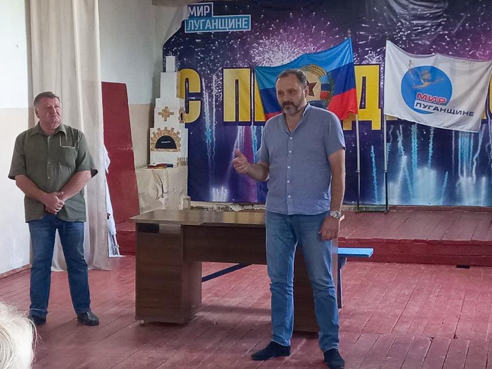 В рамках проекта «Парламентский час» Андрей Лицоев встретился с жителями села Приветное