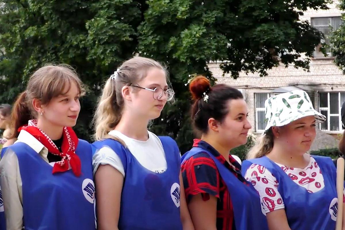 Трудовой семестр молодёжного трудового отряда «АТОМ» Луганского государственного педагогического университета 1