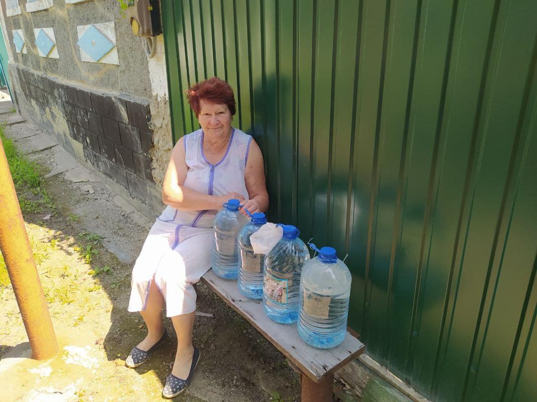 В Славяносербском районе помогли жительнице в рамках акции «Рука помощи»