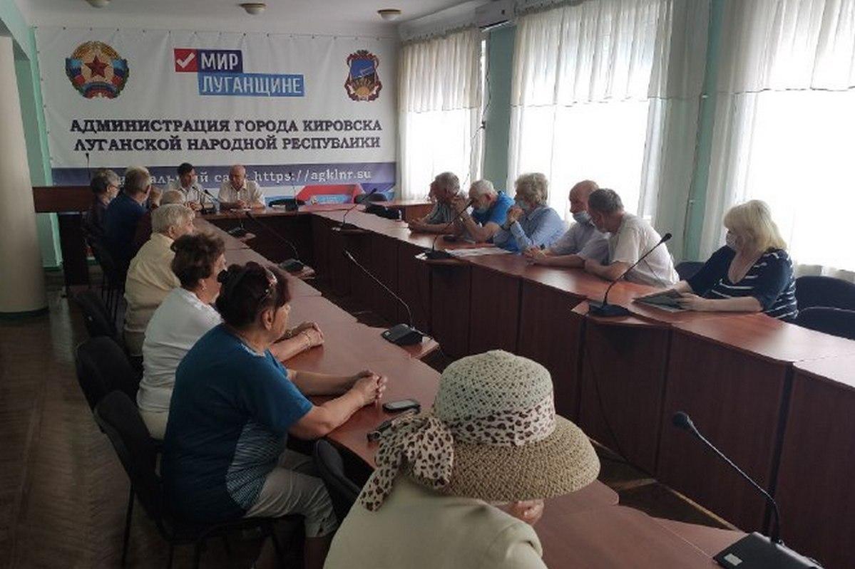Представители ветеранской организации в Кировске обсудили вопрос строительства Аллеи Славы  1