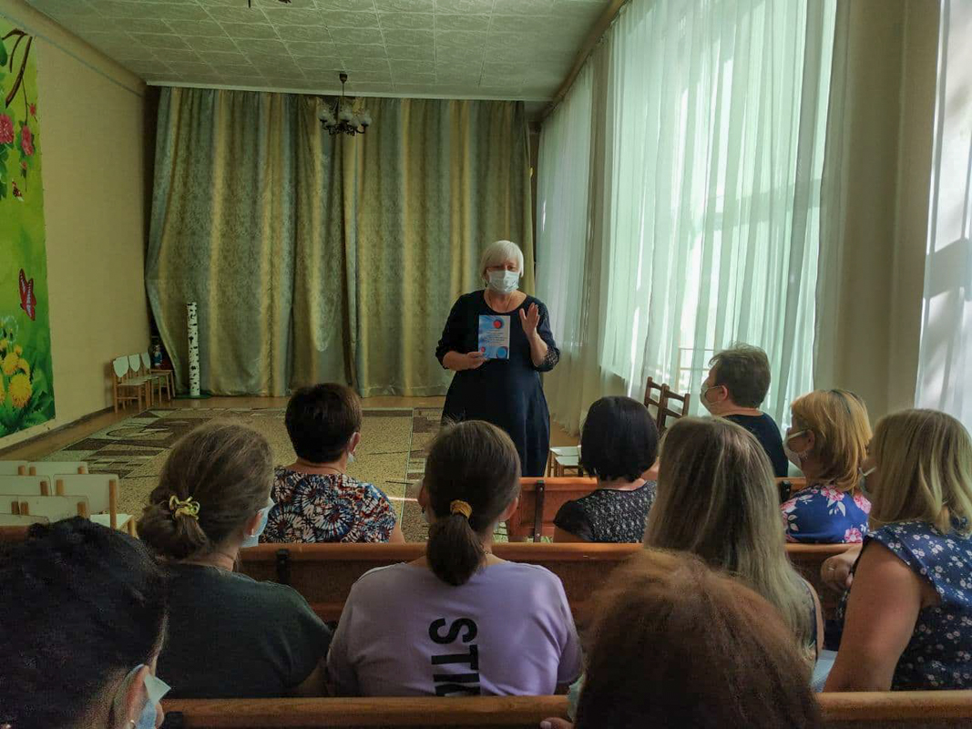 Депутат Светлана Гизай посетила заседании педагогического совета