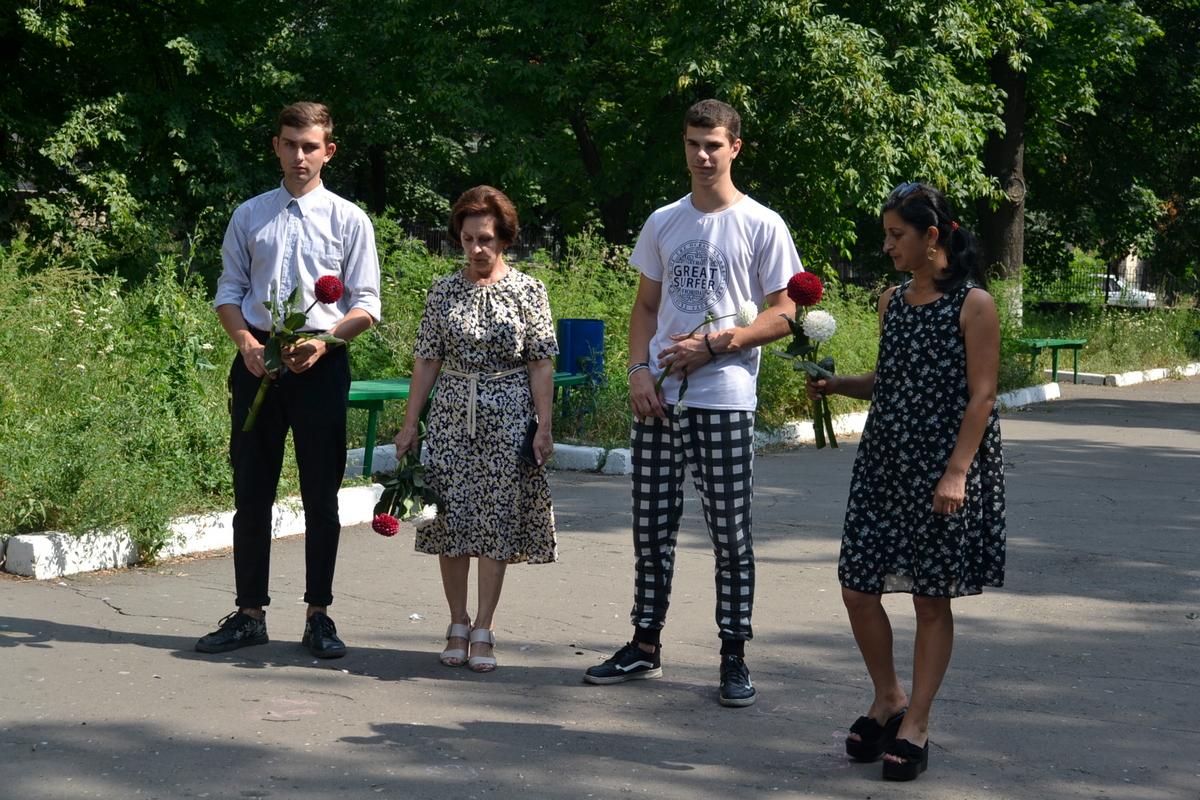 В городе Ровеньки почтили память погибших в Первой мировой войне российских воинов 1