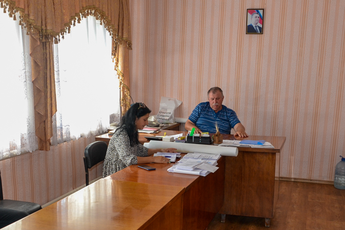 В рамках проекта «Парламентский час» Белла Демешко встретилась с жителями села Благовка