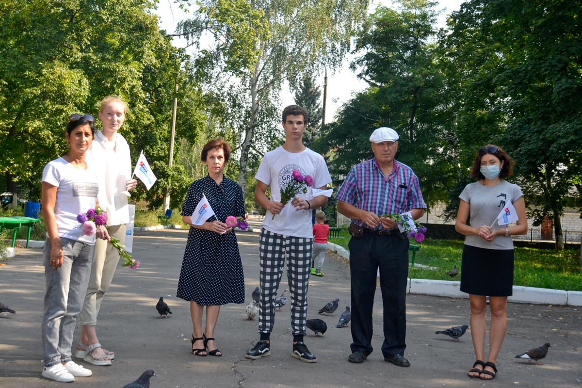 В городе Ровеньки почтили память Александра Захарченко
