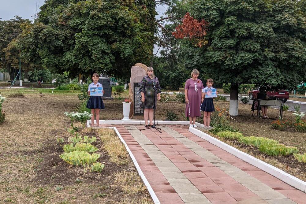 В Хрящеватом почтили память погибших во время военных действий в 2014 году 1