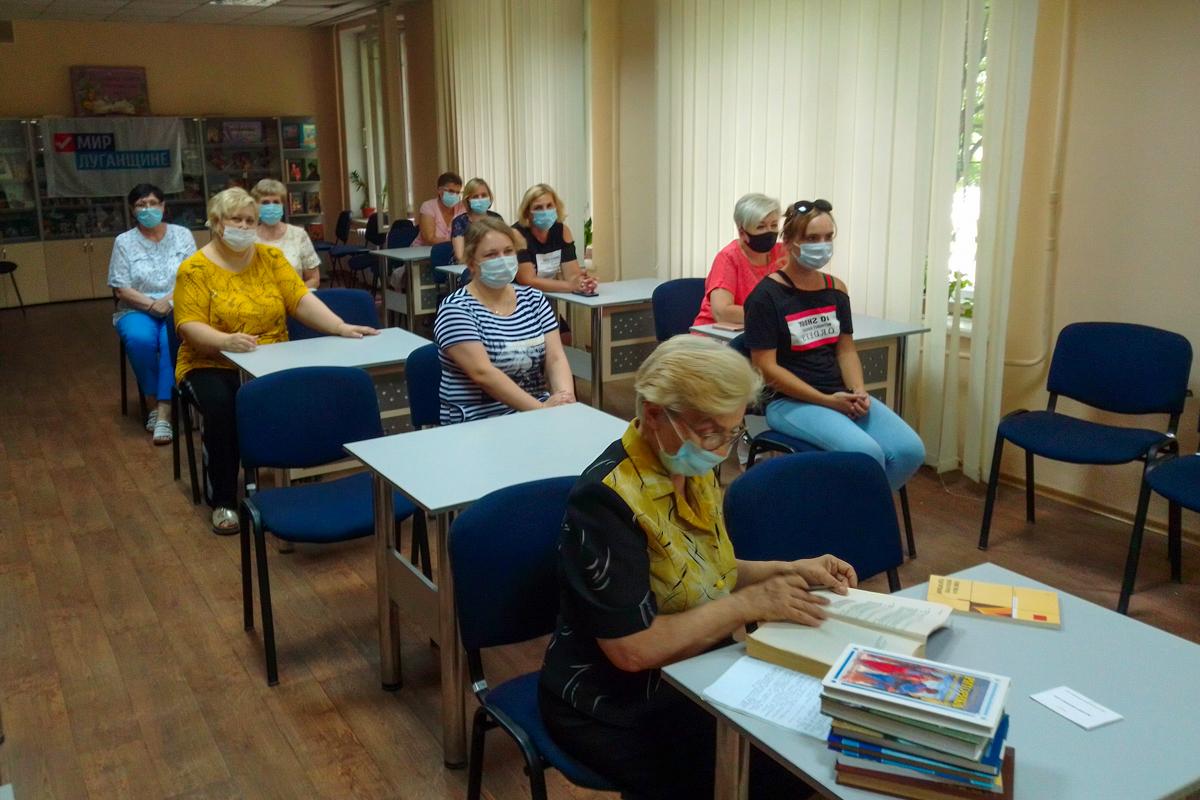 В Алчевске состоялась встреча активистов ОД «Мир Луганщине»