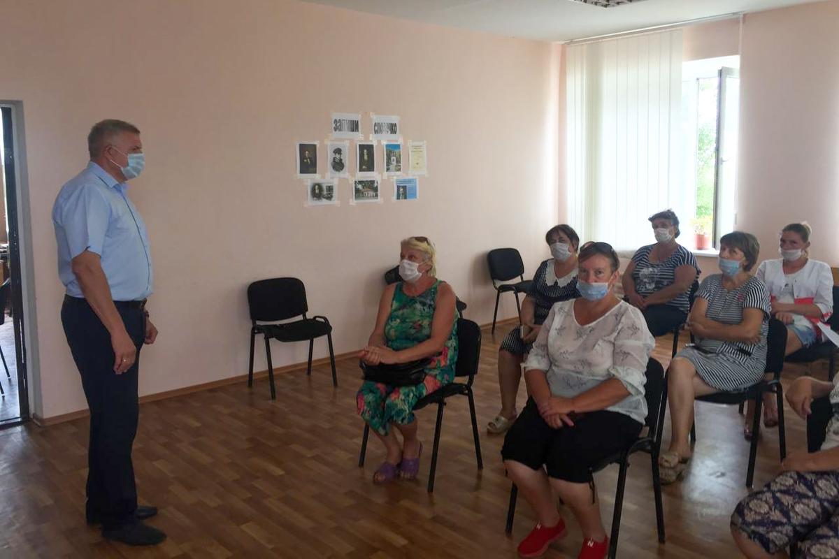 Встречу с активистами первичного отделения ОД «Мир Луганщине» провели в Краснодонском районе