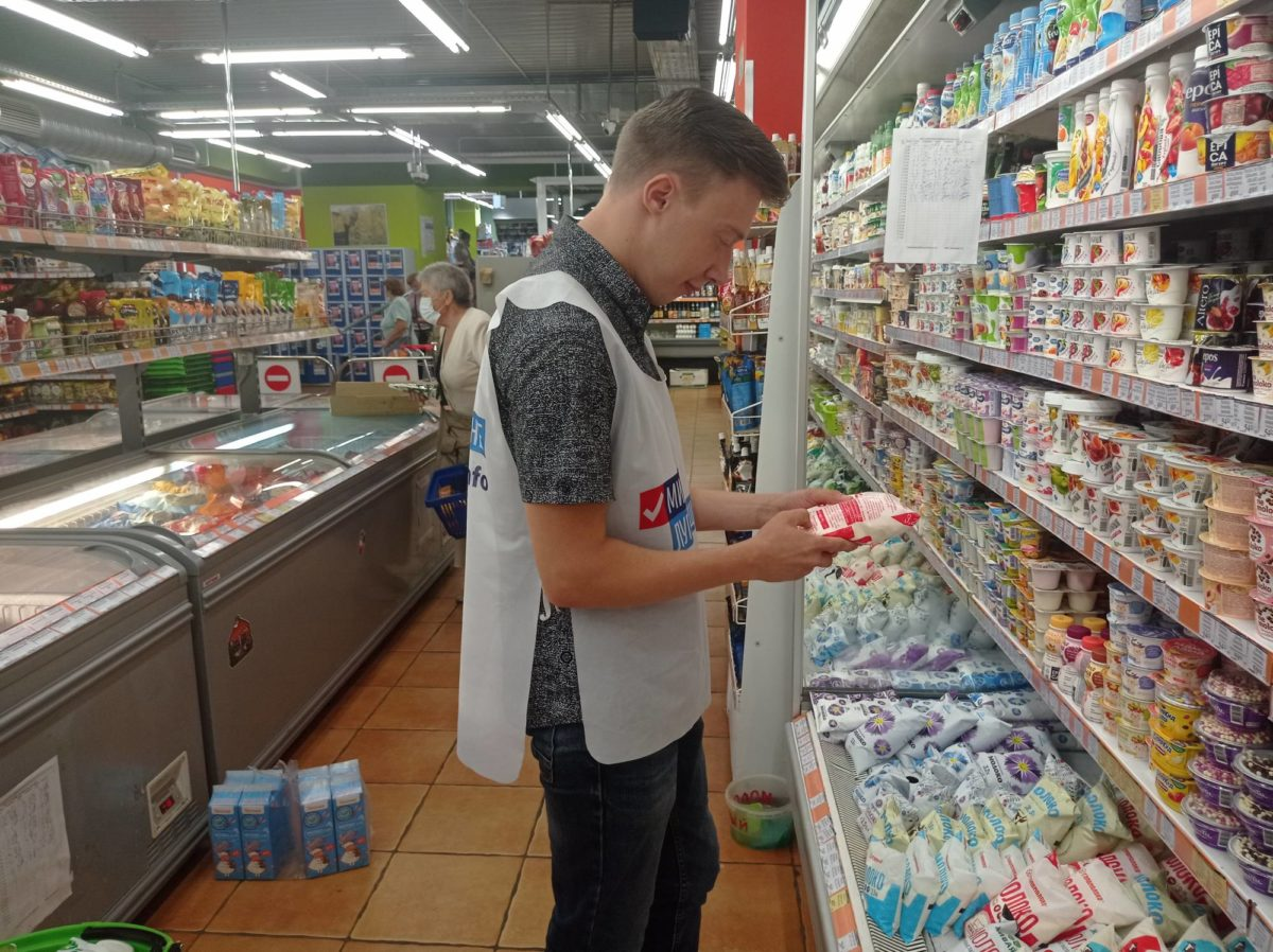 Волонтёры акции «Рука помощи» помогли трем пенсионерам из Алчевска