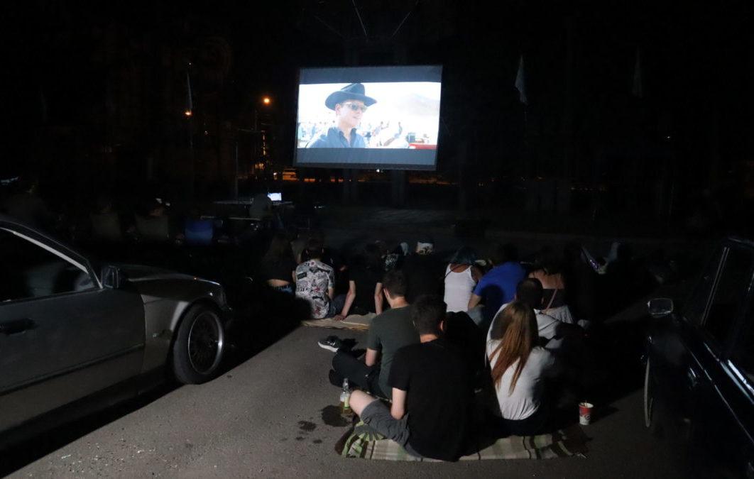 Активисты проекта «Мы помним!» организовали кинопоказ под открытым небом 2