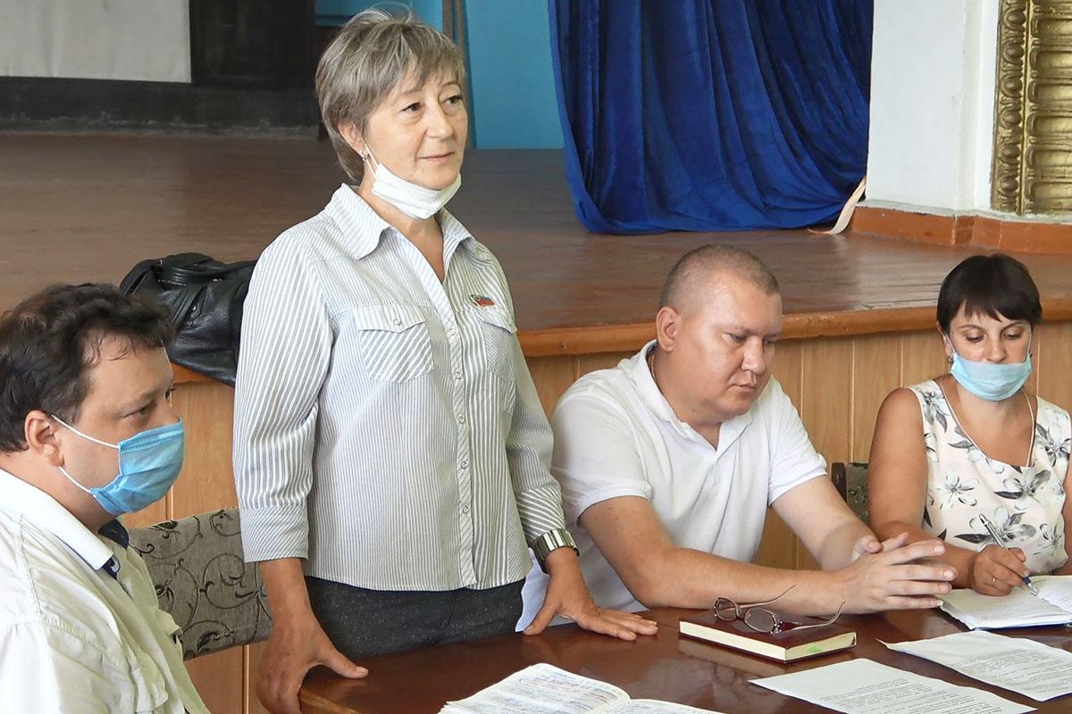 Светлана Алёшина провела встречу с жителями г.Золотое-5 в рамках проекта «Парламентский час»