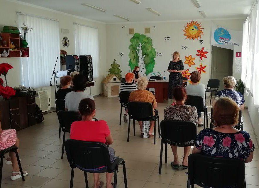 Депутат Анна Мосина встретилась с жителями села Сабовка 1