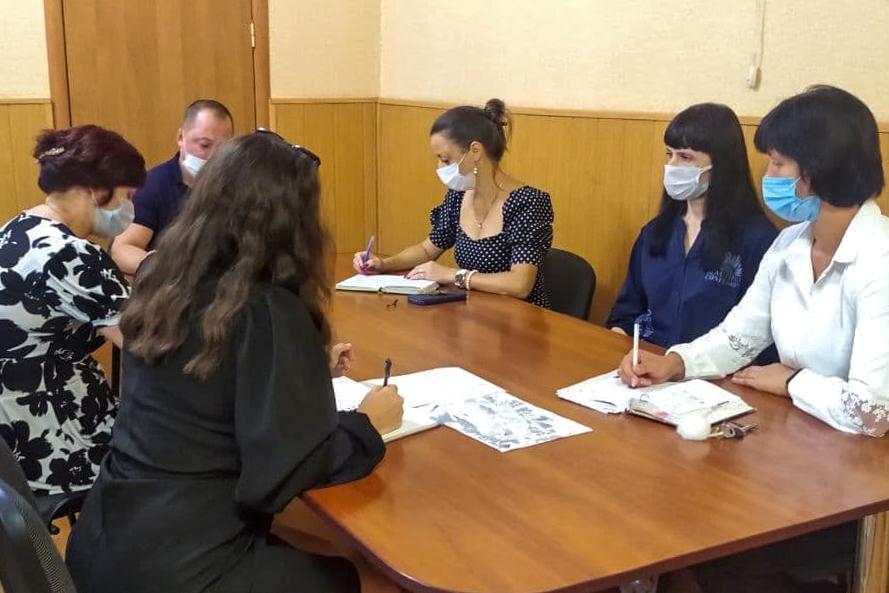 В Ирмино состоялась встреча активистов первичного отделения ОД «Мир Луганщине»