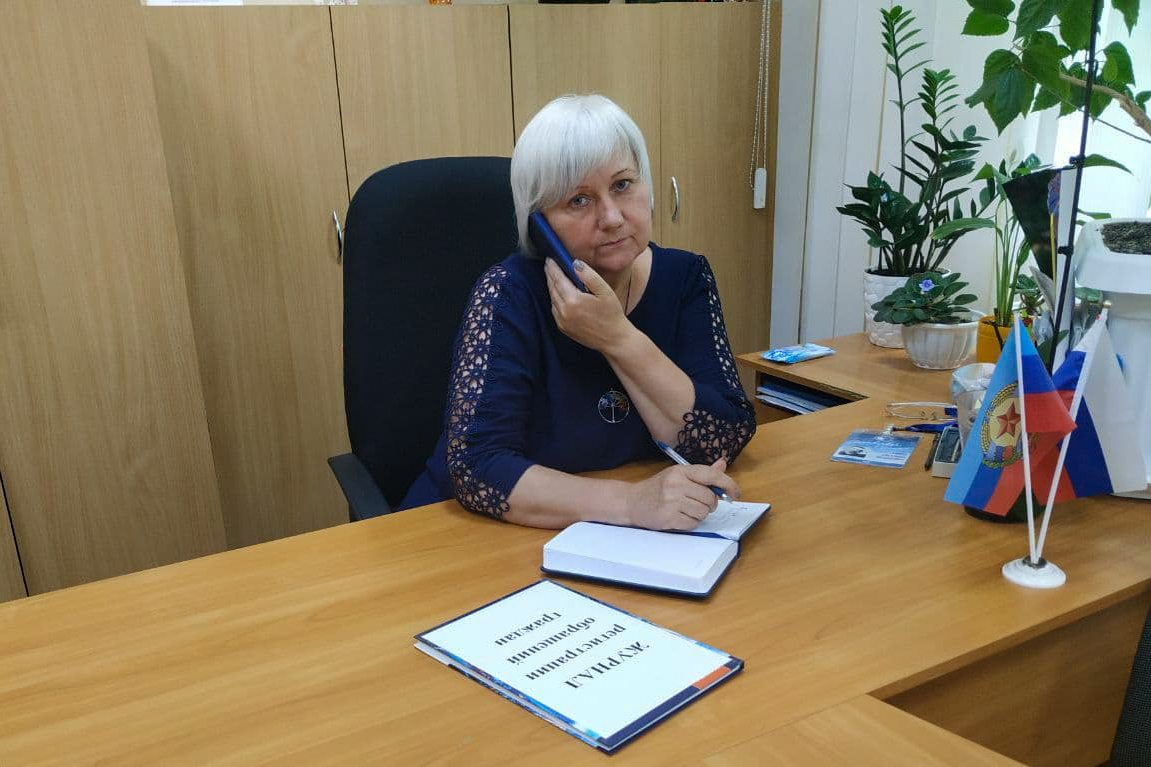 Депутат Светлана Гизай провела прямую телефонную линию