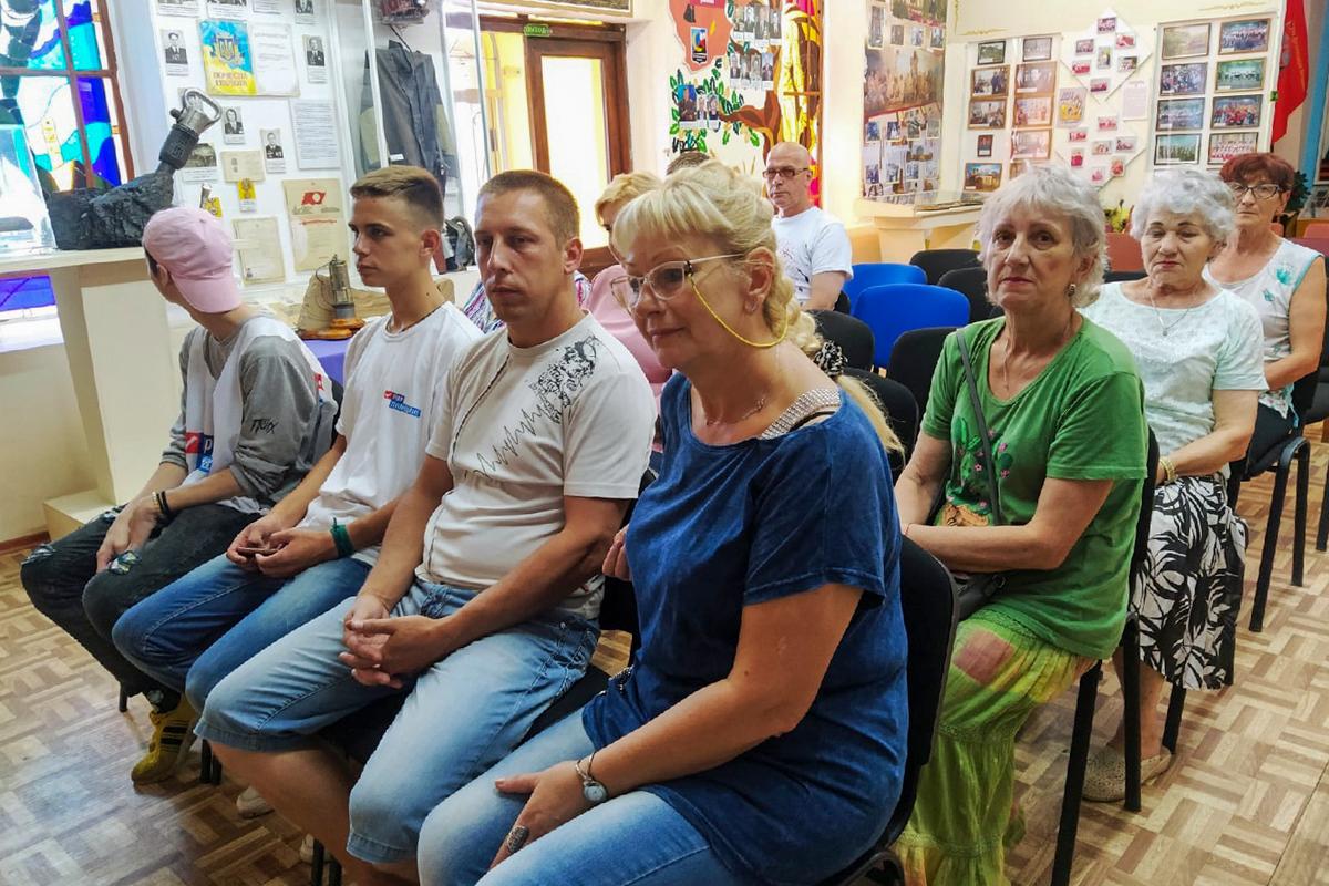 Активисты Перевальска поучаствовали в викторине, посвящённой 55-летию района 1