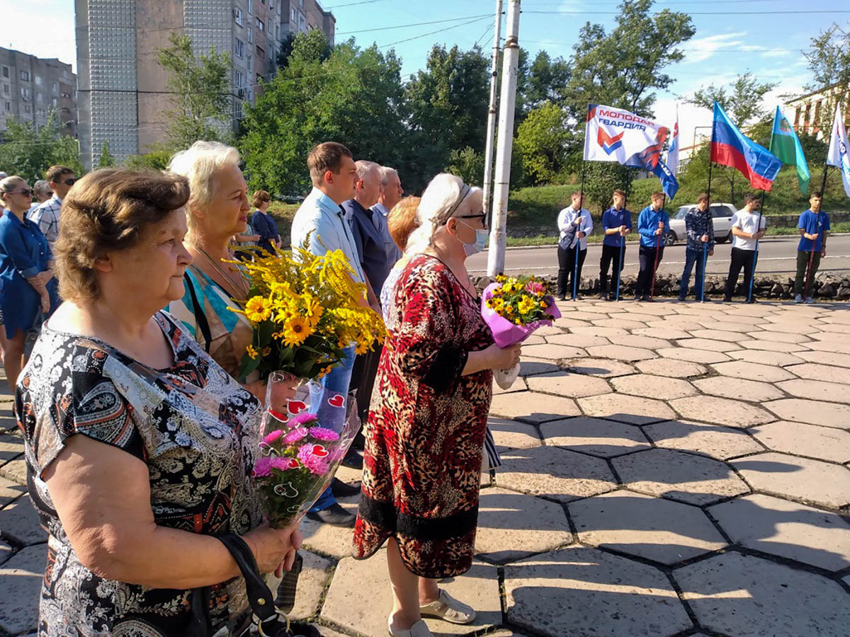 В Брянке состоялся митинг, посвященный 78-й годовщине освобождения города от немецко-фашистских захватчиков