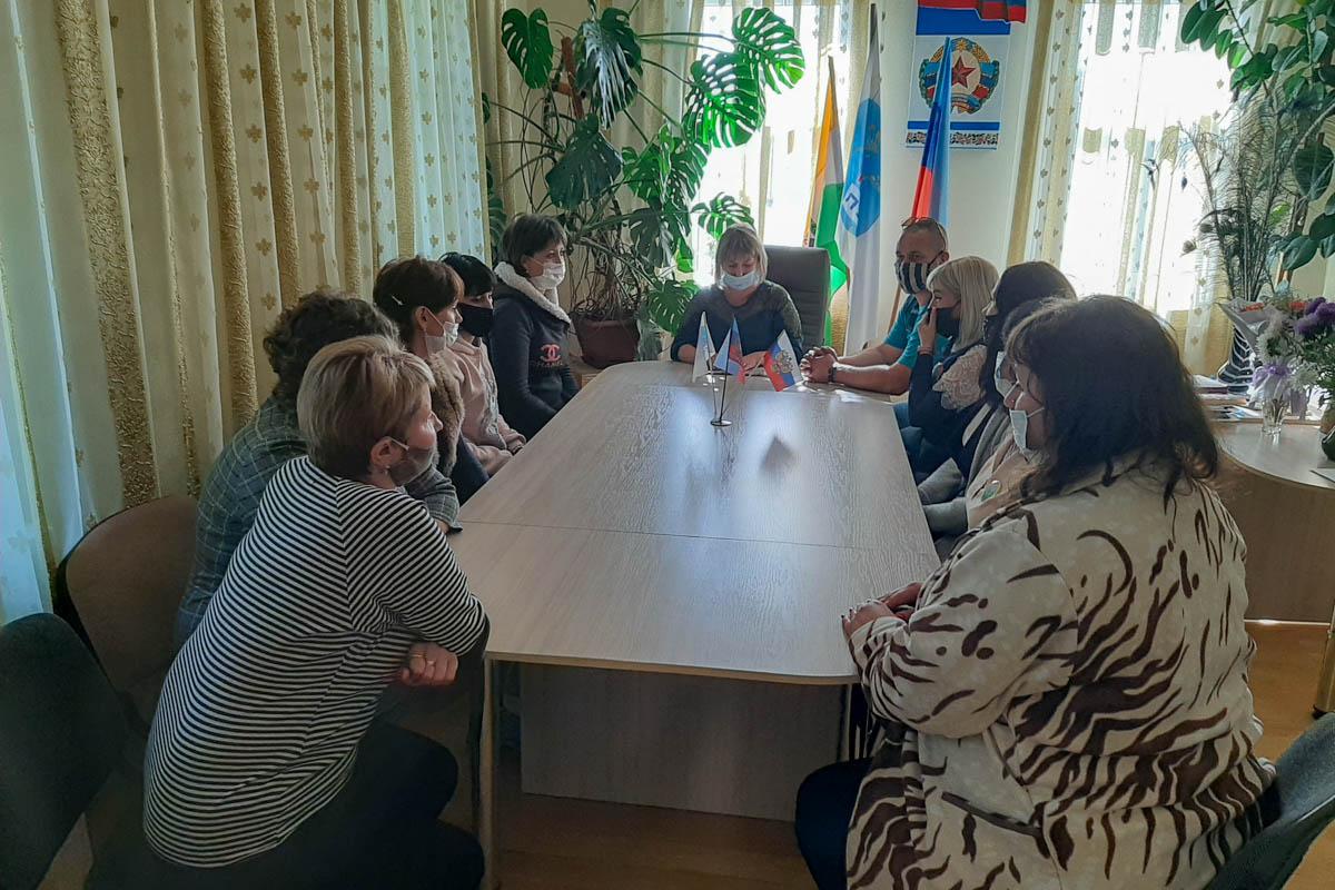 Активисты Городищенского первичного отделения приняли участие во встрече «С Россией едины»