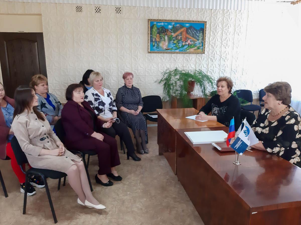 Елена Рахмукова в рамках проекта «Парламентский час» встретилась с жителями села Рафайловка
