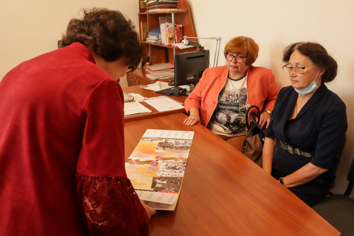 В рамках проекта «Забота о ветеранах» состоялась встреча в Луганском госпитале ветеранов войны