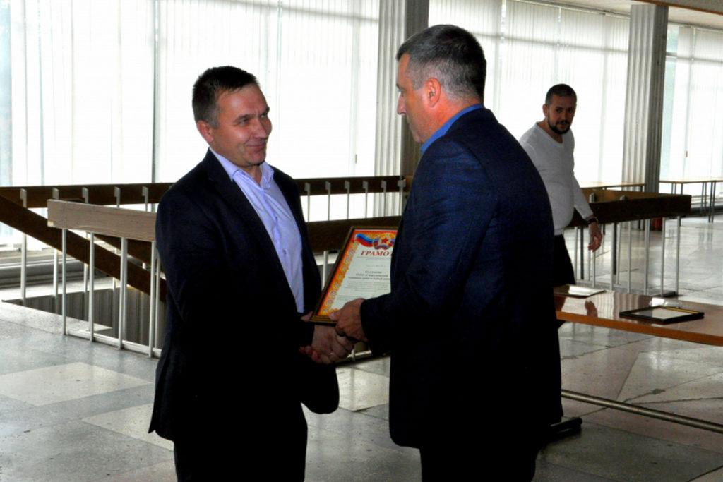 В Свердловске поощрили представителей машиностроительной сферы региона 2