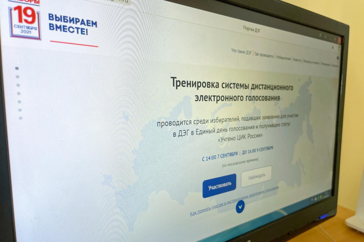 В ЛНР для всех желающих проводят тренировку дистанционного электронного голосования на выборах в Госдуму РФ 3