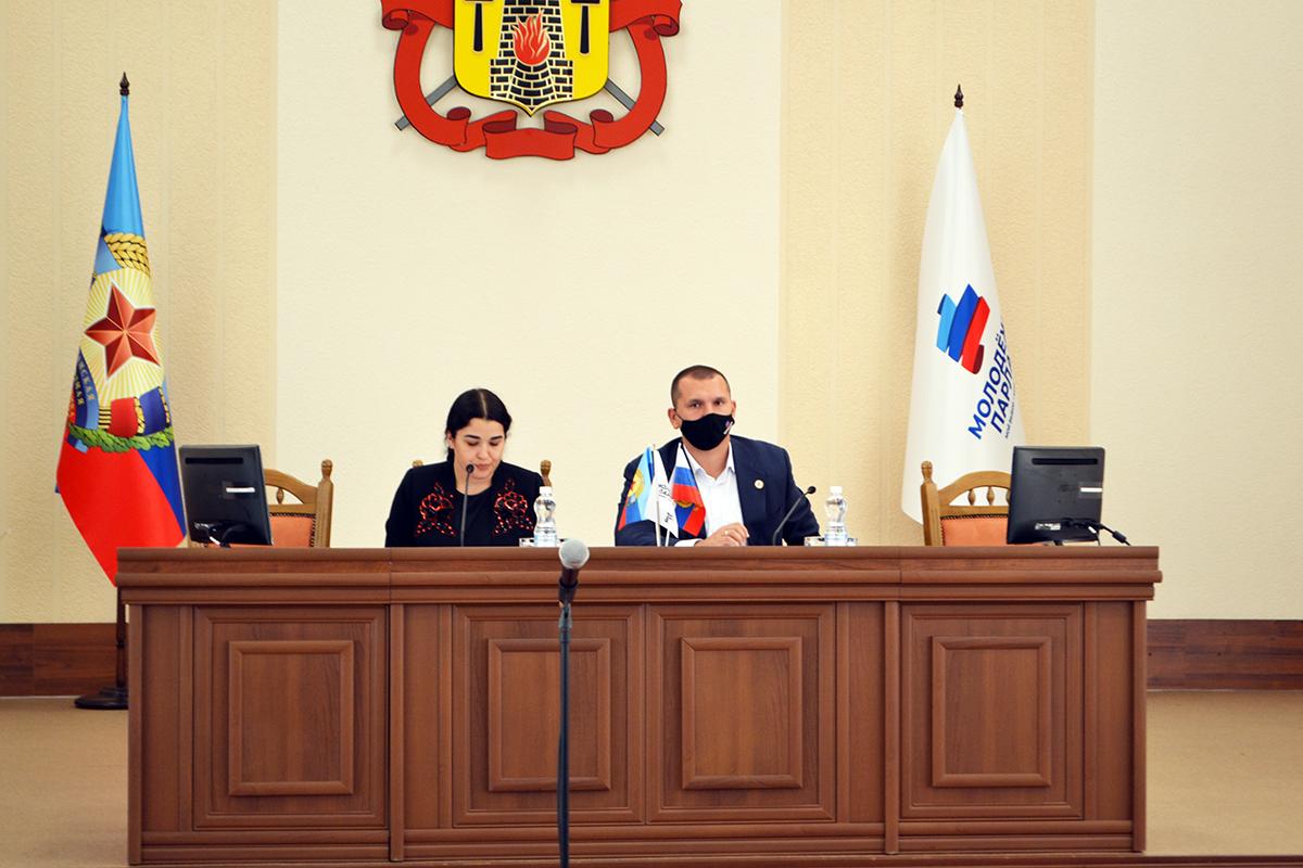 Депутаты Молодёжного парламента ЛНР отчитались о деятельности за третий квартал 2021 года