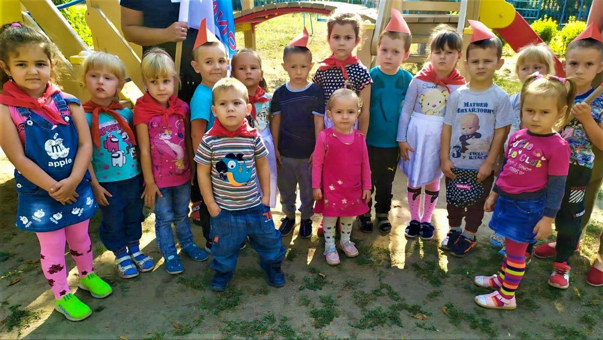 В поселке Хрящеватое в детском саду «Барвинок» прошел инфо-урок