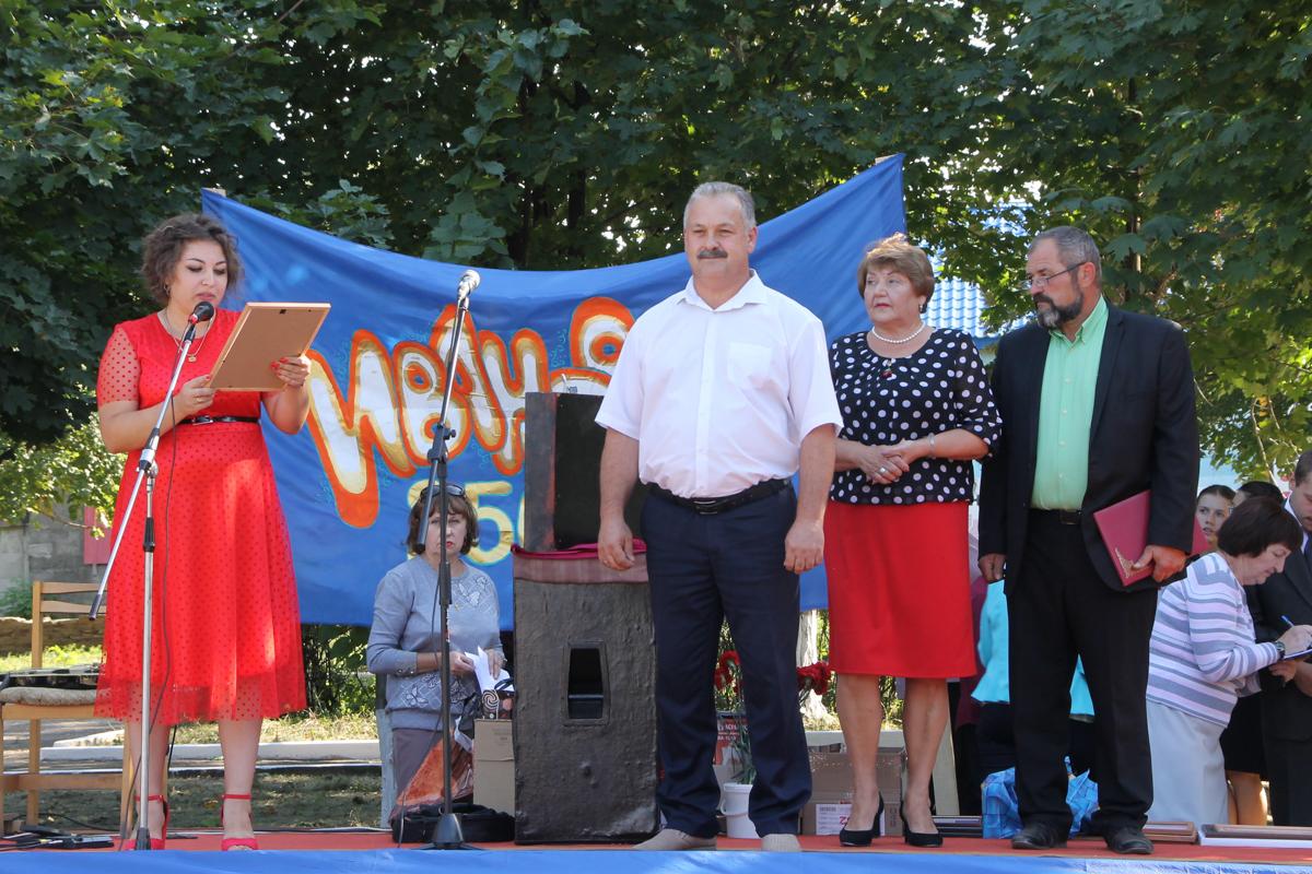 Елена Рахмукова приняла участие в праздновании 250-летия посёлка Ивановка Антрацитовского района