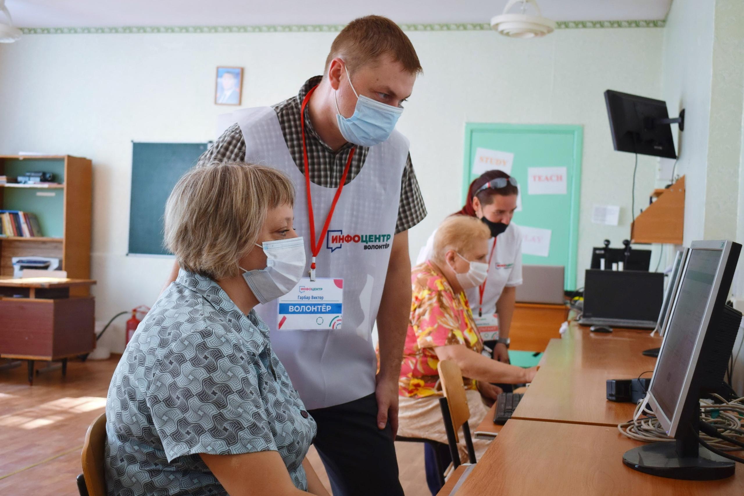 Более 45 тысяч жителей ЛНР посетили инфоцентры