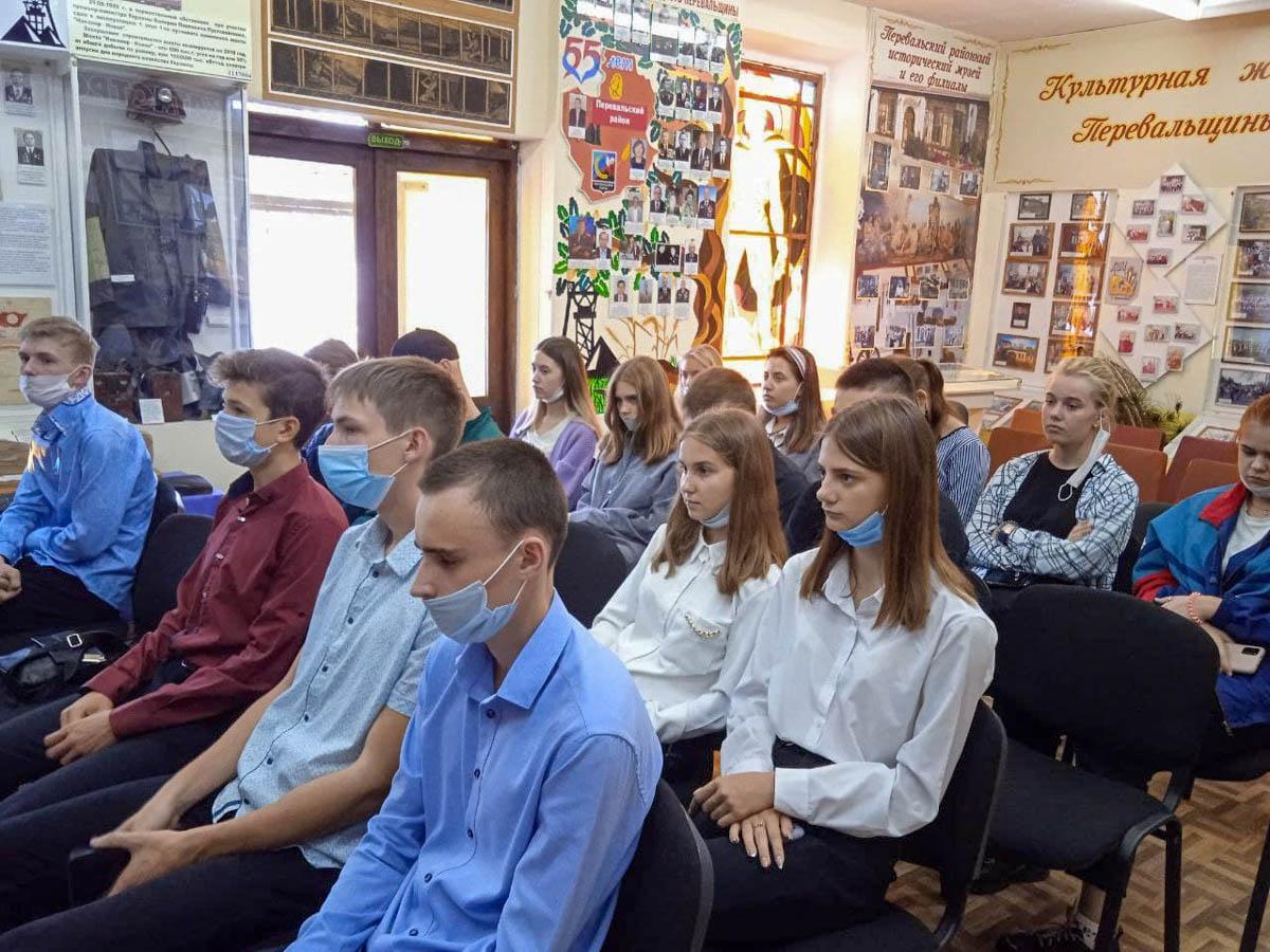 Молодёжь Перевальска почтила память жертв фашизма, в рамках проекта «Мы помним!»