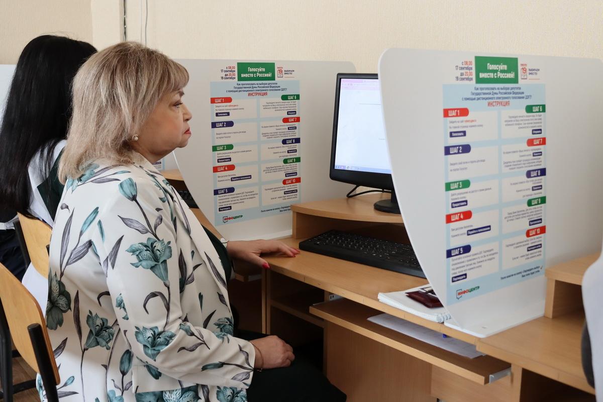 На территории ЛНР в инфоцентрах началось голосование на выборах в Госдуму России 5