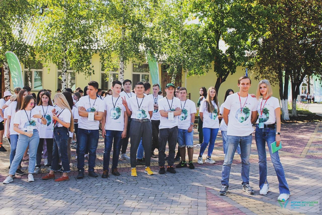 Пятая смена« Формула культуры» Форума молодёжи Донбасса «МОРЕ – ЛЕС» стартовала в ЛНР