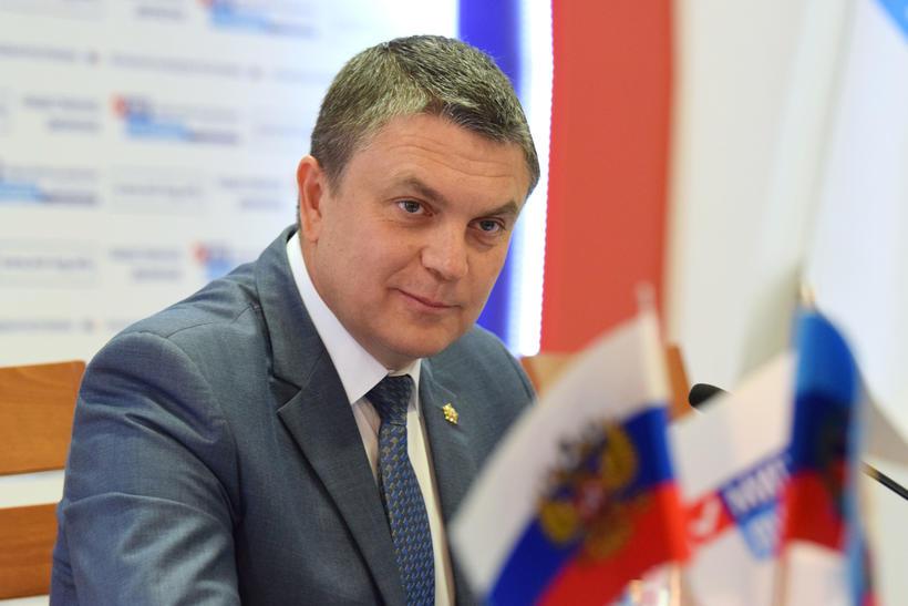 Леонид Пасечник поздравил ОД «Мир Луганщине» с 7-летием