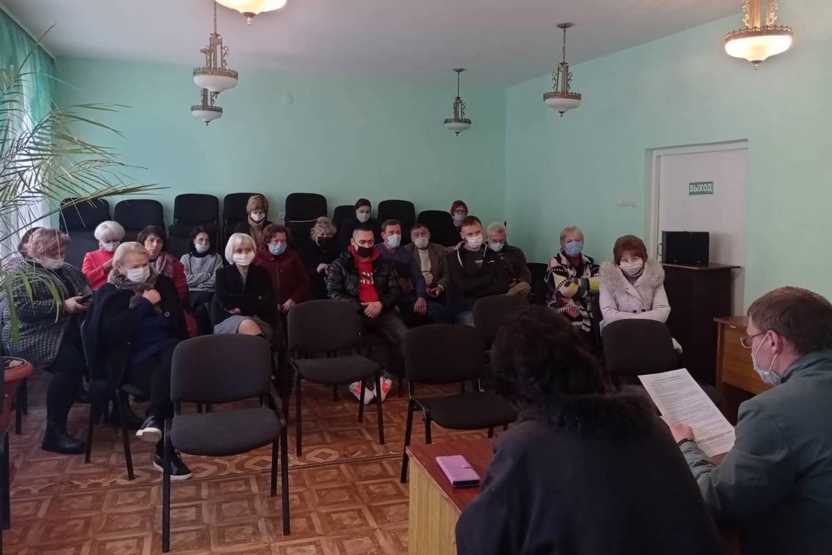 В Алчевске провели встречу активистов ОД «Мир Луганщине» с сотрудниками сферы культуры 1