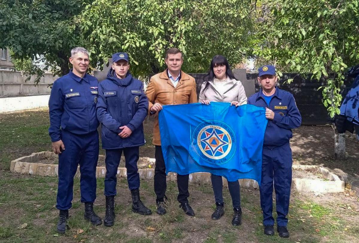 В Луганске прошло патриотическое мероприятие «Путь мужества: преодолеть, спасти, помочь»